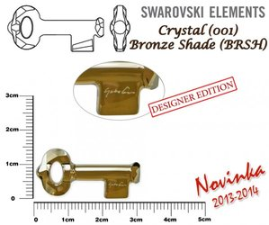 SWAROVSKI 6918 BRONZE SHADE 30mm