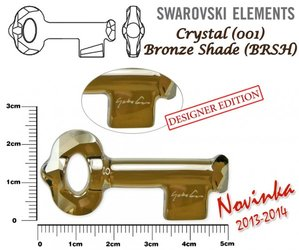 SWAROVSKI 6918 BRONZE SHADE 50mm