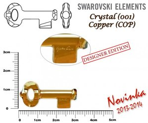 SWAROVSKI 6918 COPPER 30mm