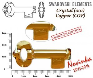 SWAROVSKI 6918 COPPER 50mm