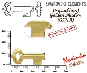 SWAROVSKI 6918 GOLDEN SHADOW  30mm