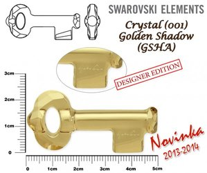 SWAROVSKI 6918 GOLDEN SHADOW 50mm