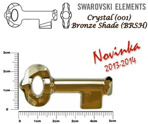 SWAROVSKI 6919 BRONZE SHADE 50mm