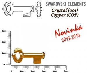 SWAROVSKI 6919 COPPER 30mm