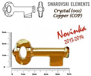 SWAROVSKI 6919 COPPER 50mm