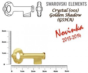 SWAROVSKI 6919 GOLDEN SHADOW  30mm