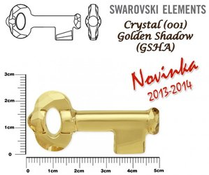 SWAROVSKI 6919 GOLDEN SHADOW 50mm