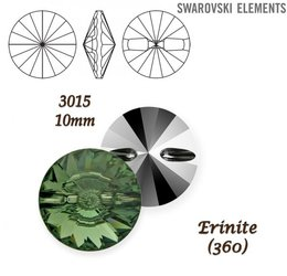 SWAROVSKI Buttons 3015 ERINITE 10mm
