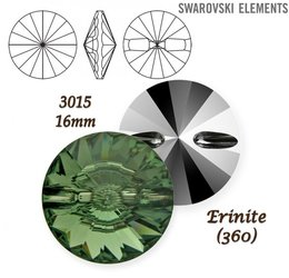 SWAROVSKI Buttons 3015 ERINITE 16mm