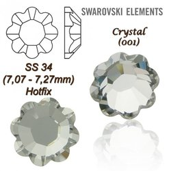 SWAROVSKI ELEMENTS 2728   HOTFIX SS34 CRYSTAL