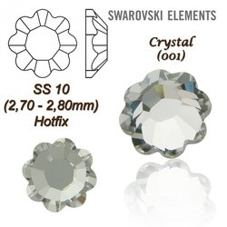 SWAROVSKI ELEMENTS 2728 HOTFIX SS10 CRYSTAL