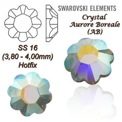 SWAROVSKI ELEMENTS 2728 HOTFIX SS16 CRYSTAL AB