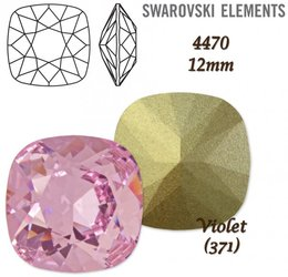 SWAROVSKI Fancy Stone 4470 VIOLET 12mm