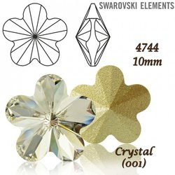 SWAROVSKI Flower Fancy 4744 CRYSTAL 10mm