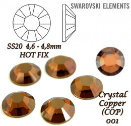 SWAROVSKI Hotfix SS20 CRYSTAL COPPER