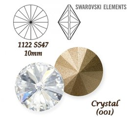 SWAROVSKI RIVOLI 1122 CRYSTAL  10mm