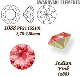 SWAROVSKI XIRIUS 1088 PP21  INDIAN PINK