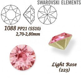 SWAROVSKI XIRIUS 1088 PP21 LIGHT ROSE