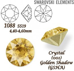 SWAROVSKI XIRIUS 1088 SS19 GOLDEN SHADOW