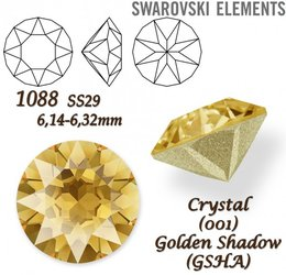 SWAROVSKI XIRIUS 1088 SS29 GOLDEN SHADOW