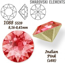 SWAROVSKI XIRIUS 1088 SS39 INDIAN PINK