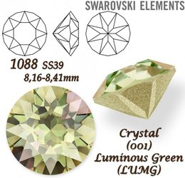 SWAROVSKI XIRIUS 1088 SS39 LUMINOUS GREEN