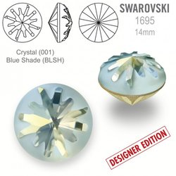 Swarovski 1695 Sea Urchin Round 10mm Blue Shade