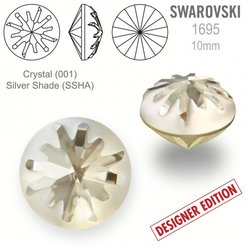 Swarovski 1695 Sea Urchin Round 10mm Silver Shade