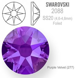Swarovski 2088 Foiled SS20 Purple Velvet