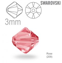 Swarovski 5328 Bead Rose 3mm