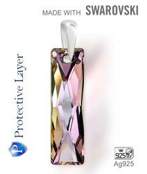 Přívěsek Made with Swarovski 6465 Crystal (001) Vitrail… e323fd80ea1