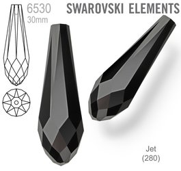 Swarovski 6530 Pure Drop 30mm JET