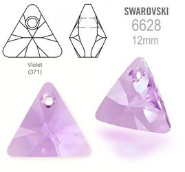 Swarovski 6628 Triangle 12mm Violet