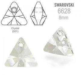 Swarovski 6628 Triangle 8mm Crystal