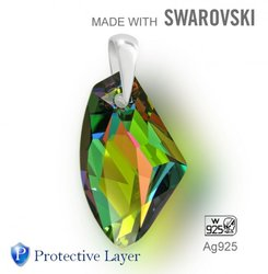 Swarovski 6656 Vitrail Medium 27mm + slupna