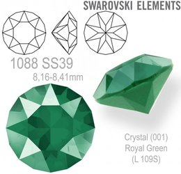 Swarovski XIRIUS 1088 SS39 Royal Green