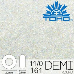 TOHO Demi Round 11-0 color 161