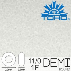 TOHO Demi Round 11-0 color 1F