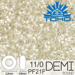 TOHO Demi Round 11-0 color PF21F