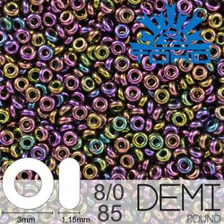 TOHO Demi Round 8-0 color 85