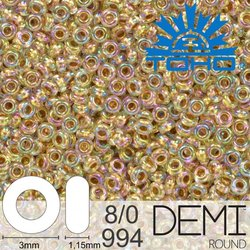 TOHO Demi Round 8-0 color 994
