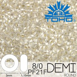 TOHO Demi Round 8-0 color PF21F