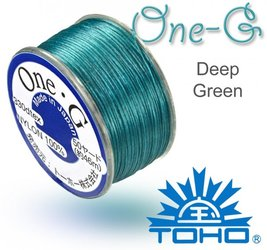 TOHO nylonova nit One G Deep Green c.22