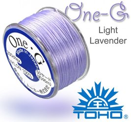 TOHO nylonova nit One G Light Lavender c.19
