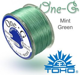 TOHO nylonova nit One G Mint Green c.21