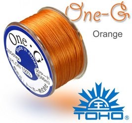 TOHO nylonova nit One G Orange c.15