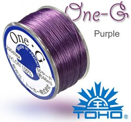 TOHO nylonova nit One G Purple c.11