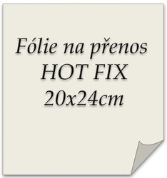 folie na HOT FIX 20x23cm