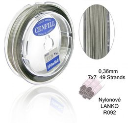 nylon lanko 036mm R092 STRANDS 49