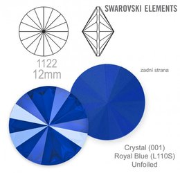 swarovski rivoli 1122 Royal Blue 12mm